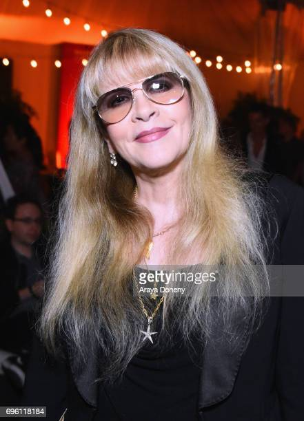 Singersongwriter Stevie Nicks attends the Opening Night Party during the 2017 Los Angeles Film Festival at Culver Studios on June 14 2017 in Culver...