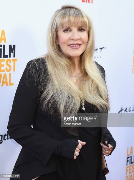 Singersongwriter Stevie Nicks attends the opening night premiere of Focus Features' The Book of Henry during the 2017 Los Angeles Film Festival at...