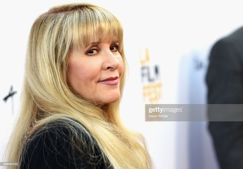 Singer-songwriter Stevie Nicks attends the opening night premiere of Focus Features' 'The Book of Henry' during the 2017 Los Angeles Film Festival at Arclight Cinemas Culver City on June 14, 2017 in Culver City, California.