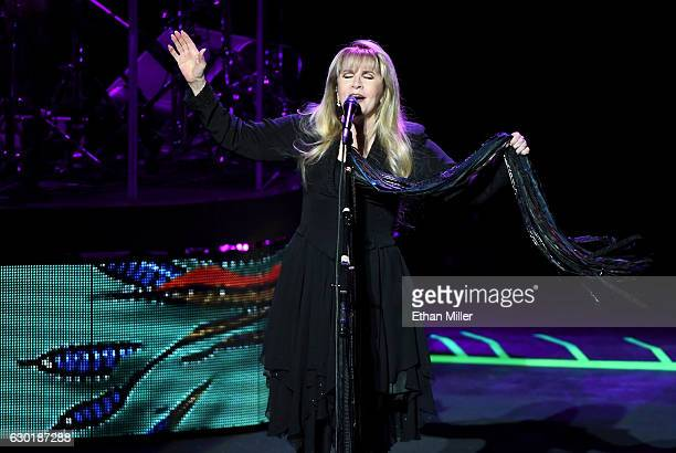 Singer/songwriter Stevie Nicks performs during the grand opening of Park Theater at Monte Carlo Resort and Casino on December 17 2016 in Las Vegas...