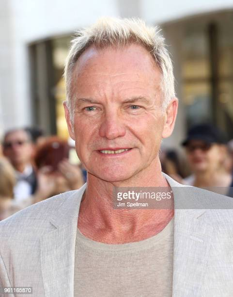 Singer/songwriter Sting attends the 2018 American Ballet Theatre Spring Gala at The Metropolitan Opera House on May 21 2018 in New York City