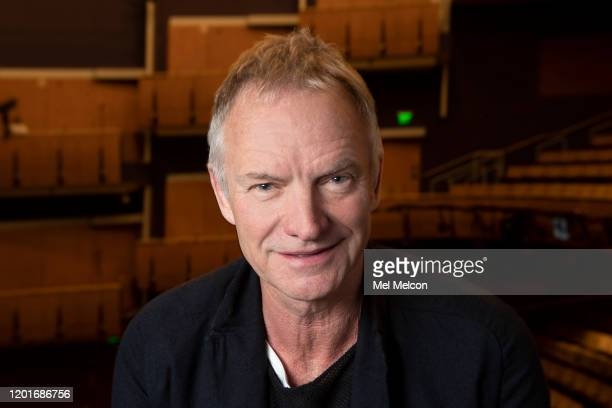 Singer/songwriter Sting is photographed for Los Angeles Times on January 10, 2020 in Los Angeles, California. PUBLISHED IMAGE. CREDIT MUST READ: Mel...