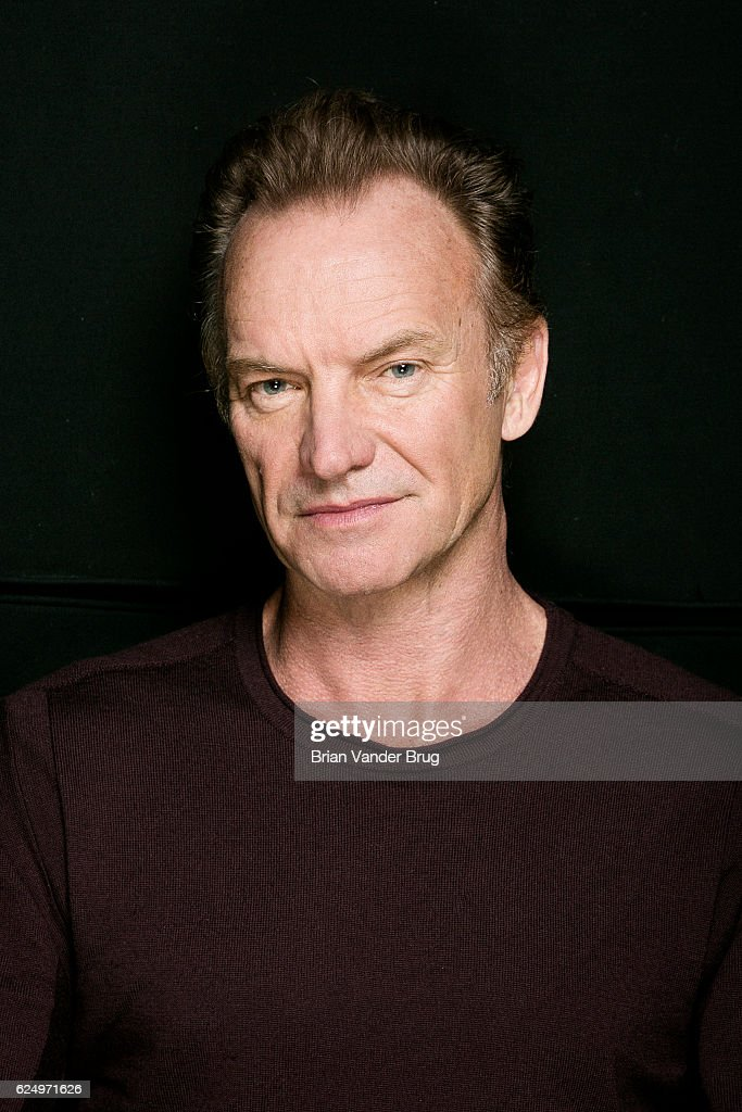 Singer-songwriter Sting is photographed for Los Angeles Times on October 24, 2016 in Los Angeles, California. PUBLISHED IMAGE. PUBLISHED IMAGE.