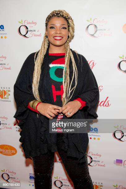 Singersongwriter Syleena Johnson attends the '5th Annual Caroling with Q Parker and Friends' at Atlanta Marriott Buckhead on December 11 2017 in...