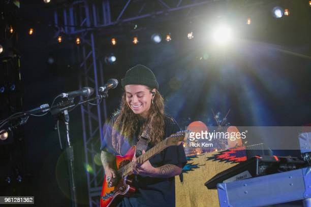 Singersongwriter Tash Sultana performs in concert at Stubb's BarBQ on May 21 2018 in Austin Texas