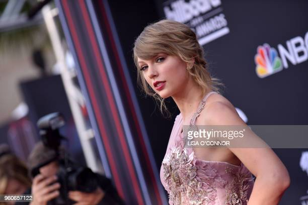 Singer/songwriter Taylor Swift attends the 2018 Billboard Music Awards 2018 at the MGM Grand Resort International on May 20 in Las Vegas Nevada