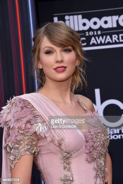 Singer/songwriter Taylor Swift attends the 2018 Billboard Music Awards 2018 at the MGM Grand Resort International on May 20 in Las Vegas, Nevada