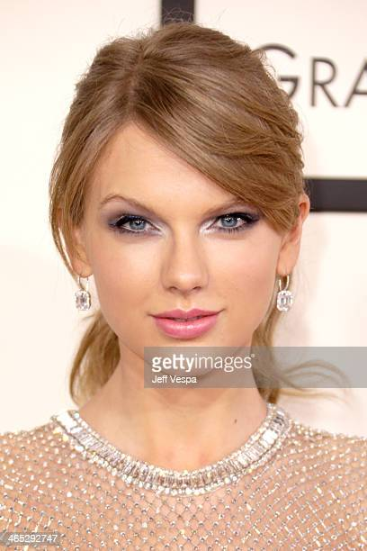 Singer/songwriter Taylor Swift attends the 56th GRAMMY Awards at Staples Center on January 26 2014 in Los Angeles California