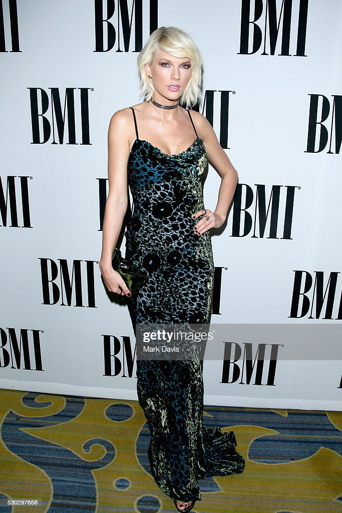 Singer-songwriter Taylor Swift attends the 64th Annual BMI Pop Awards held at the Beverly Wilshire Four Seasons Hotel on May 10, 2016 in Beverly Hills, California.
