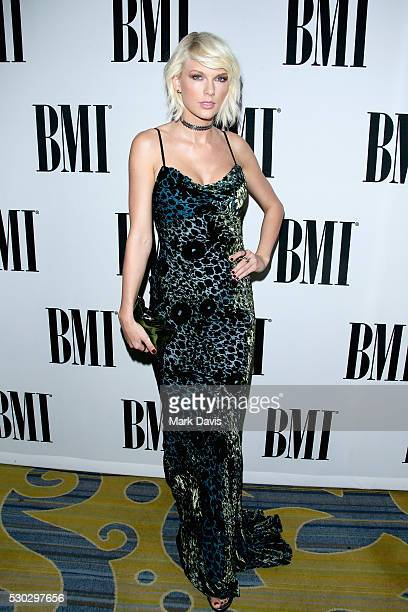 Singersongwriter Taylor Swift attends the 64th Annual BMI Pop Awards held at the Beverly Wilshire Four Seasons Hotel on May 10 2016 in Beverly Hills...