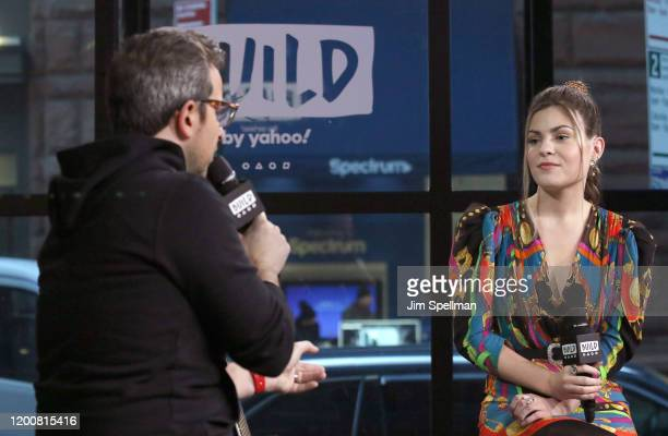 Singer/songwriter Tenille Arts attends the Build Series to discuss her new release Love Heartbreak Everything in Between at Build Studio on January...