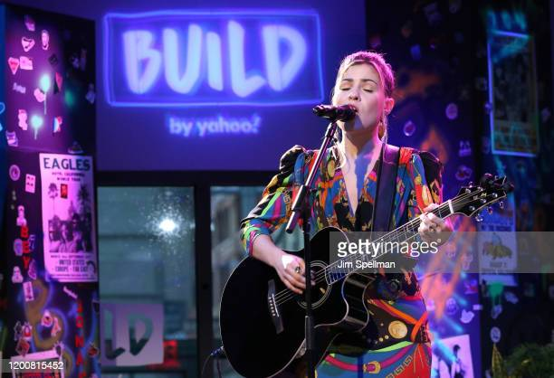 Singer/songwriter Tenille Arts performs at the Build Series for her new release Love Heartbreak Everything in Between at Build Studio on January 20...