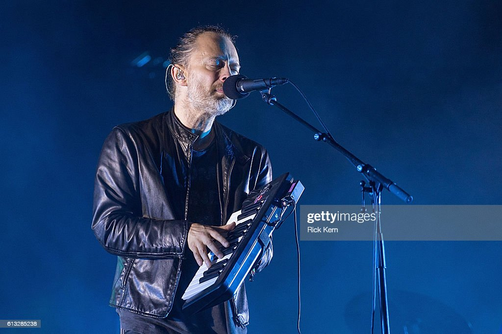 Singer-songwriter Thom Yorke of Radiohead performs onstage during weekend two, day one of Austin City Limits Music Festival at Zilker Park on October 7, 2016 in Austin, Texas.