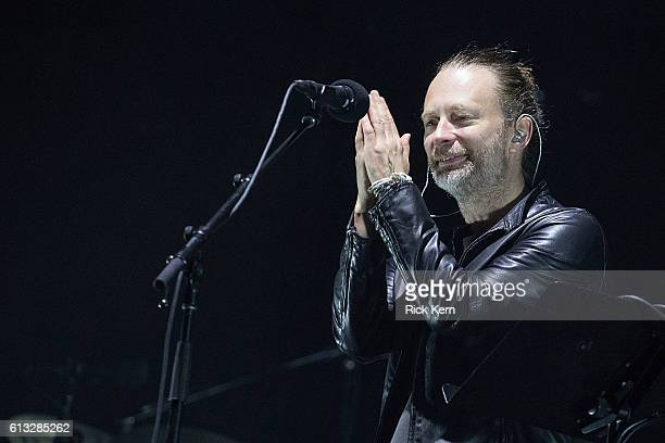 Singersongwriter Thom Yorke of Radiohead performs onstage during weekend two day one of Austin City Limits Music Festival at Zilker Park on October 7...