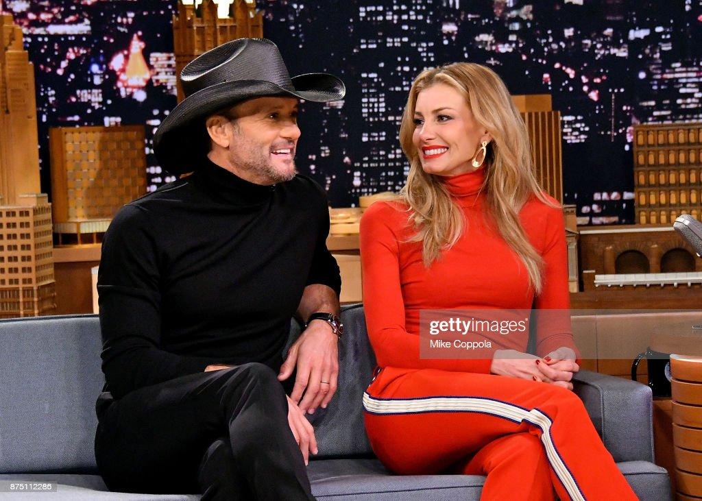 "Tim McGraw & Faith Hill Visit ""The Tonight Show Starring Jimmy Fallon"""