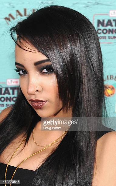 Singer-songwriter Tinashe stopped by the Malibu bar to enjoy specialty cocktails at Live Nation's National Concert Day at Irving Plaza on May 5, 2015...