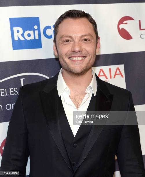 Singer/songwriter Tiziano Ferro attends the 13th Annual LA Italia Fest Film Fest opening night premiere of 'Hotel Gagarin' at TCL Chinese 6 Theatres...