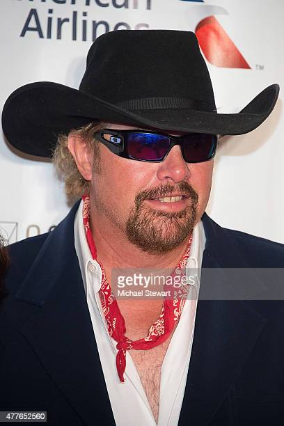 Singersongwriter Toby Keith attends the Songwriters Hall of Fame 46th Annual Induction and Awards at Marriott Marquis Hotel on June 18 2015 in New...
