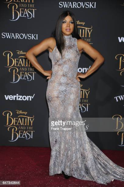 "Singer/songwriter Toni Braxton attends Disney's ""Beauty and the Beast"" premiere at El Capitan Theatre on March 2, 2017 in Los Angeles, California."