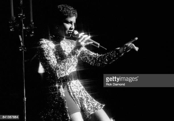 Singer/Songwriter Toni Braxton performs during LaFace Records platinum celebrates party in Atlanta Georgia October 14 1993