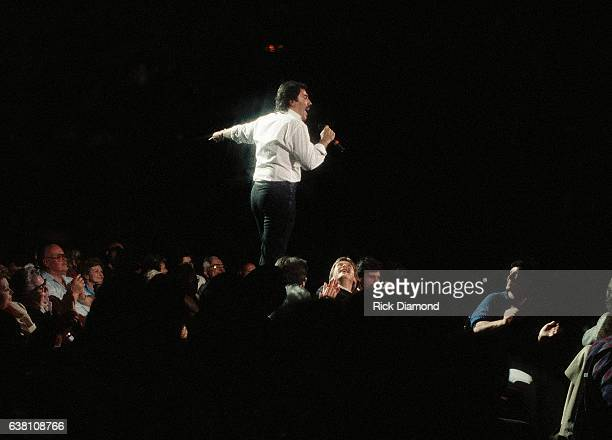 Singer/Songwriter Tony Orlando performs at The Fox Theater in Atlanta Georgia February 10 1987