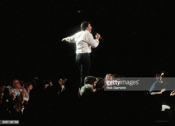 Singer/Songwriter Tony Orlando performs at The Fox Theater in Atlanta Georgia February 10 1987