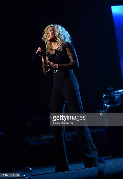 Singersongwriter Tori Kelly performs onstage during the 2016 MusiCares Person of the Year honoring Lionel Richie at the Los Angeles Convention Center...