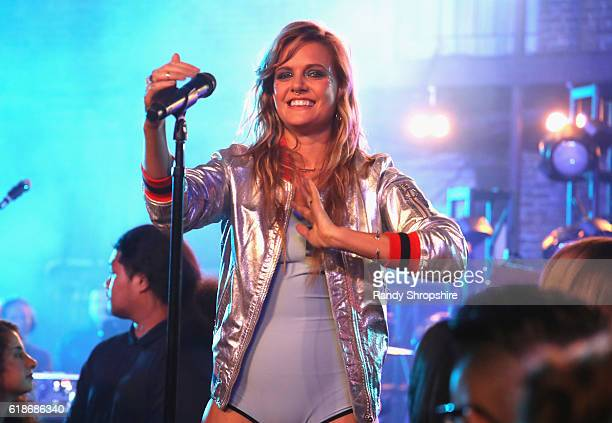 Singersongwriter Tove Lo performs onstage at MTV's Wonderland LIVE Show on October 27 2016 in Los Angeles California