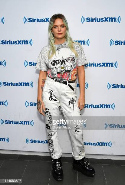 Singer/songwriter Tove Lo visits SiriusXM Studios on May 16 2019 in New York City