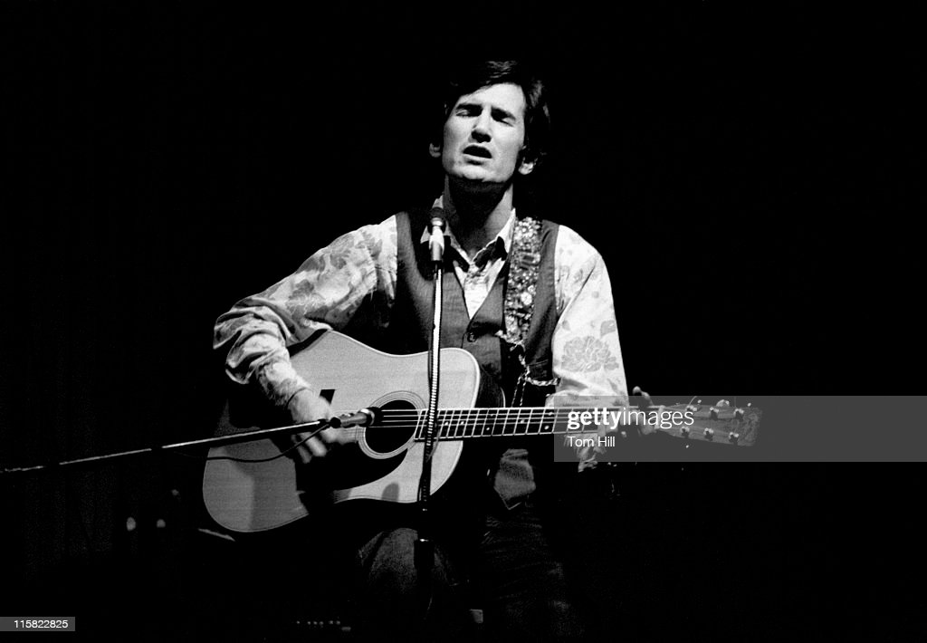 Townes Van Zandt in Concert at the The Last Resort - February 6, 1973 : News Photo
