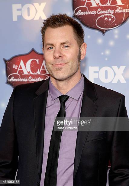 Singer-songwriter Trevor Rosen arrives at the American Country Awards 2013 at the Mandalay Bay Events Center on December 10, 2013 in Las Vegas,...