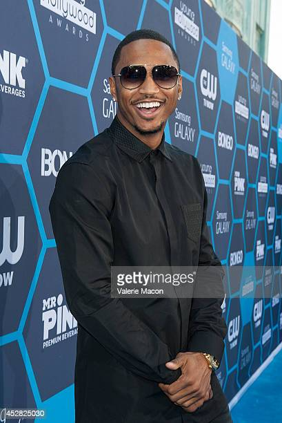 Singer/songwriter Trey Songz arrives at the 16th Annual Young Hollywood Awards at The Wiltern on July 27 2014 in Los Angeles California