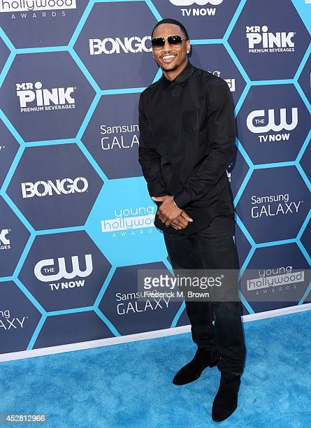 SingerSongwriter Trey Songz attends the 2014 Young Hollywood Awards brought to you by Samsung Galaxy at The Wiltern on July 27 2014 in Los Angeles...