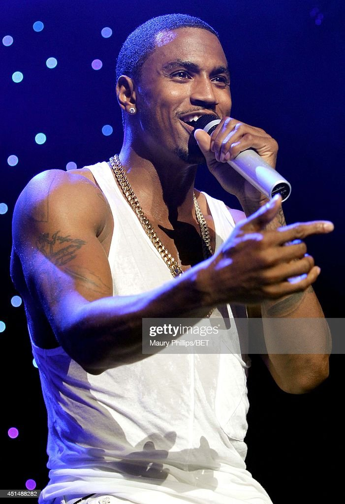 Singer/songwriter Trey Songz performs onstage at the Mary J. Blige, Trey Songz And Jennifer Hudson Concert Presented By King.com during the 2014 BET Experience At L.A. LIVE on June 29, 2014 in Los Angeles, California.