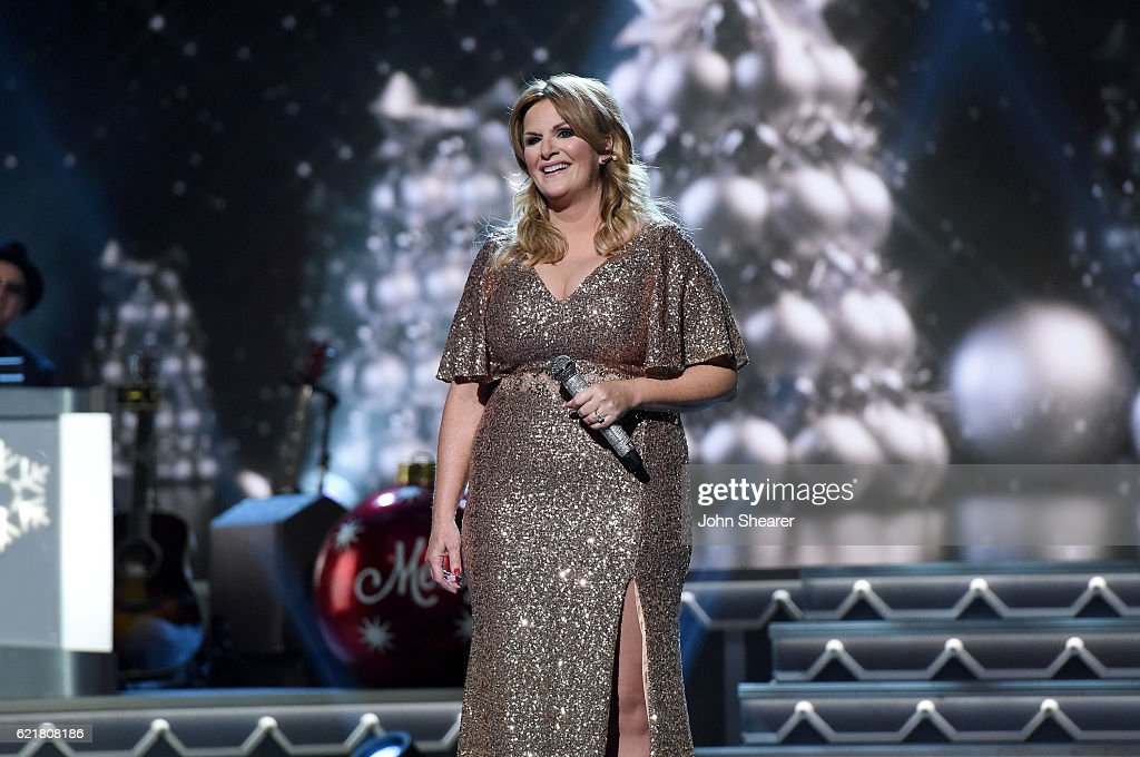 Singer-songwriter Trisha Yearwood performs on stage during the CMA 2016 Country Christmas on November 8, 2016 in Nashville, Tennessee.