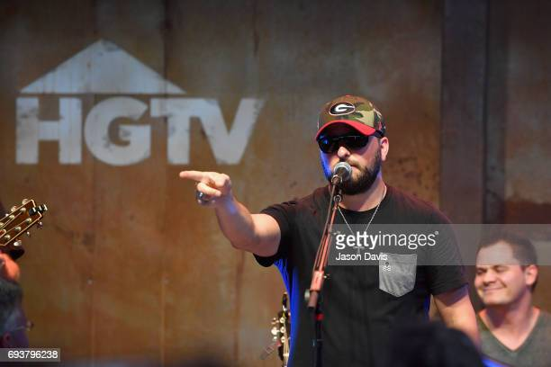 Singersongwriter Tyler Farr performs onstage at the HGTV Lodge during CMA Music Fest on June 8 2017 in Nashville Tennessee