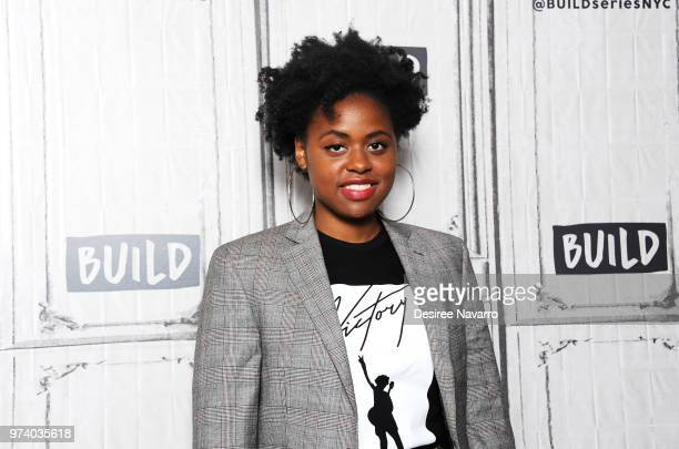 Singersongwriter Victory visits Build Series to discuss 'Open Your Eyes'' at Build Studio on June 13 2018 in New York City