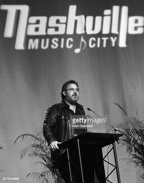 Singer/Songwriter Vince Gill Receives The EW 'Bud' Wendell Award as part of Nashville's National Tourism Week Hospitality Celebration at Music City...