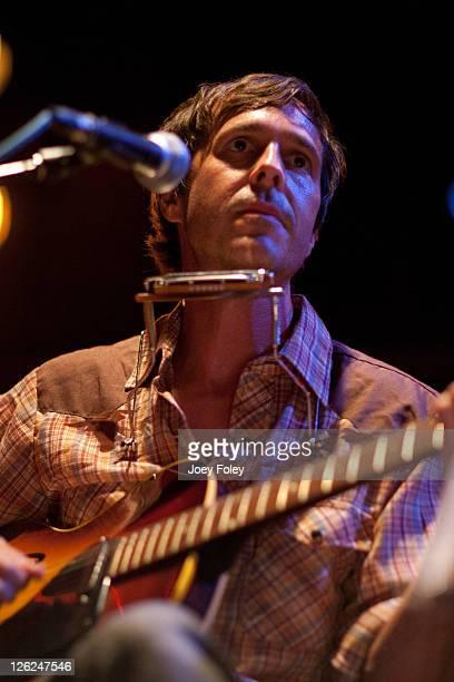 Singersongwriter Walter Schreifels performs onstage at Reggie's Rock Club on September 10 2011 in Chicago Illinois