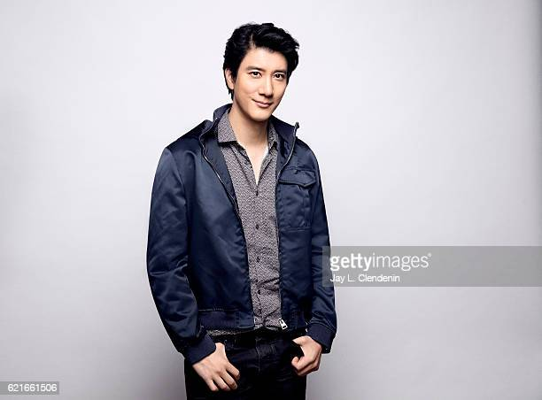 Singersongwriter Wang Leehom poses for a portraits at the Toronto International Film Festival for Los Angeles Times on September 13 2016 in Toronto...