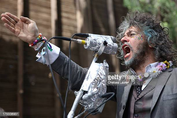Singer/songwriter Wayne Coyne of The Flaming Lips performs onstage during the Warner Bros Records 3rd Annual 'Summer Sessions' at Warner Bros Records...
