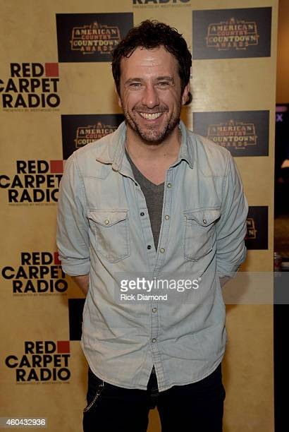Singer/Songwriter Will Hoge attends Red Carpet Radio Presented By Westwood One For The American County Countdown Awards at the Music City Center on...