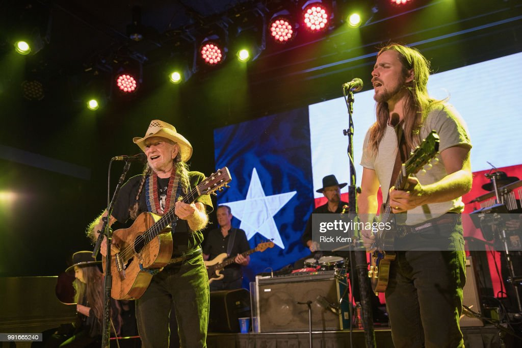Willie Nelson And Lukas Nelson Perform At 3TEN ACL Live