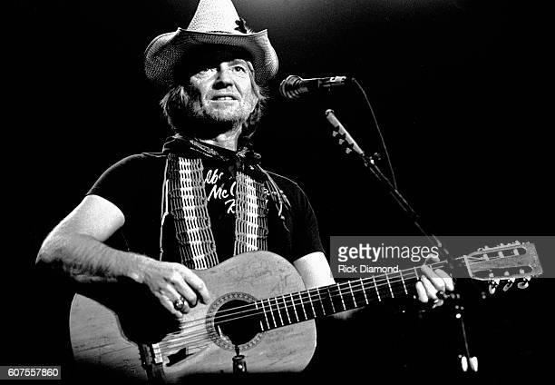 December 11: Singer/Songwriter Willie Nelson performs live at The Omni Coliseum in Atlanta Georgia. December 11, 1981