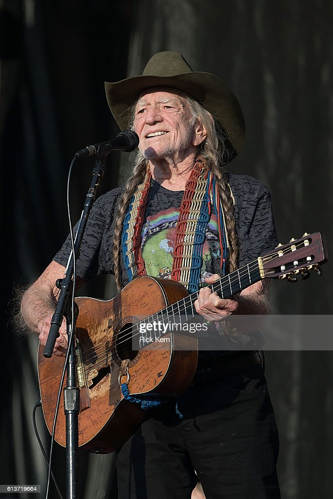 Singer-songwriter Willie Nelson performs onstage during weekend two, day three of Austin City Limits Music Festival at Zilker Park on October 9, 2016 in Austin, Texas.