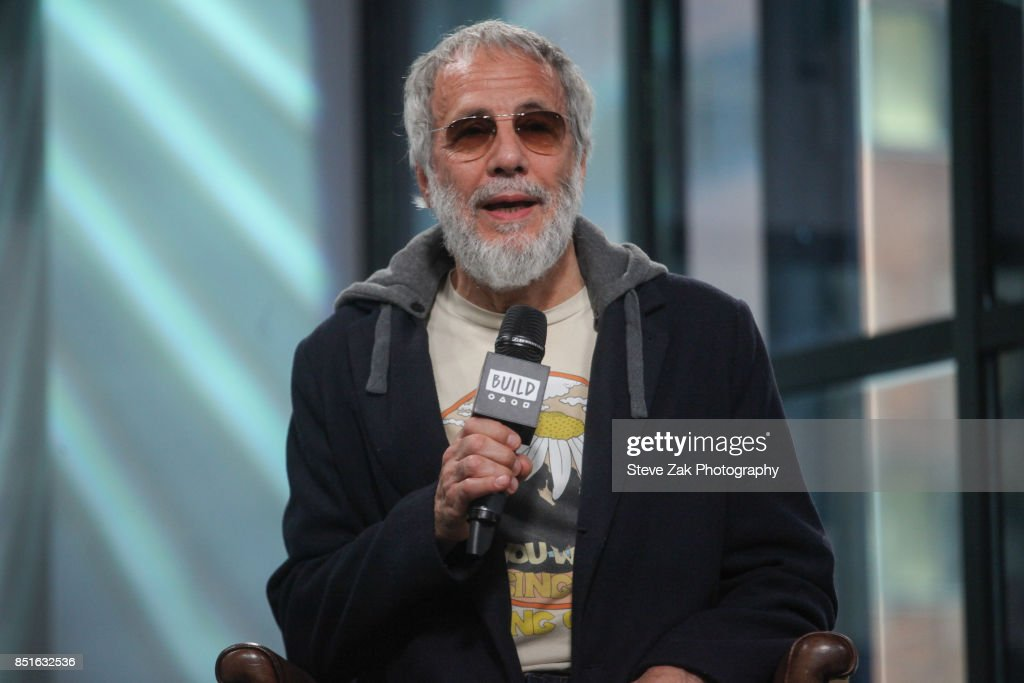 Singer/songwriter Yusuf / Cat Stevens attends Build Series to discuss his new album 'The Laughing Apple' at Build Studio on September 22, 2017 in New York City.