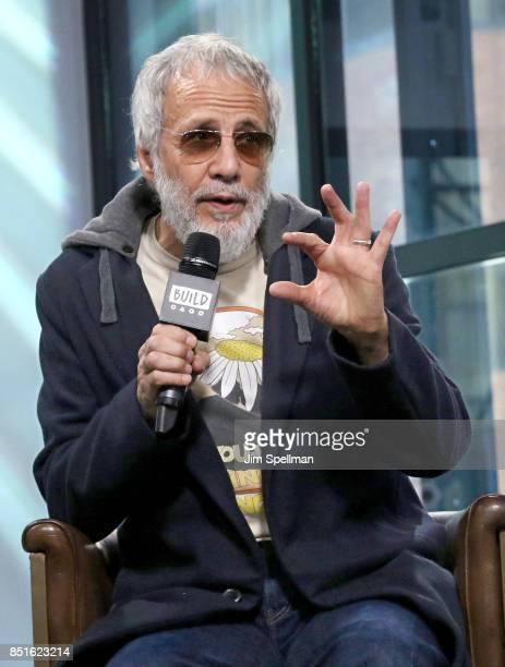 Singer/songwriter Yusuf / Cat Stevens attends Build to discuss his new album 'The Laughing Apple' at Build Studio on September 22 2017 in New York...