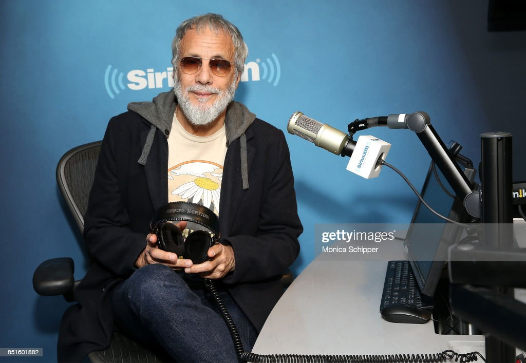 Singer-songwriter Yusuf Islam, aka Cat Stevens, visits SiriusXM Studios on September 22, 2017 in New York City.