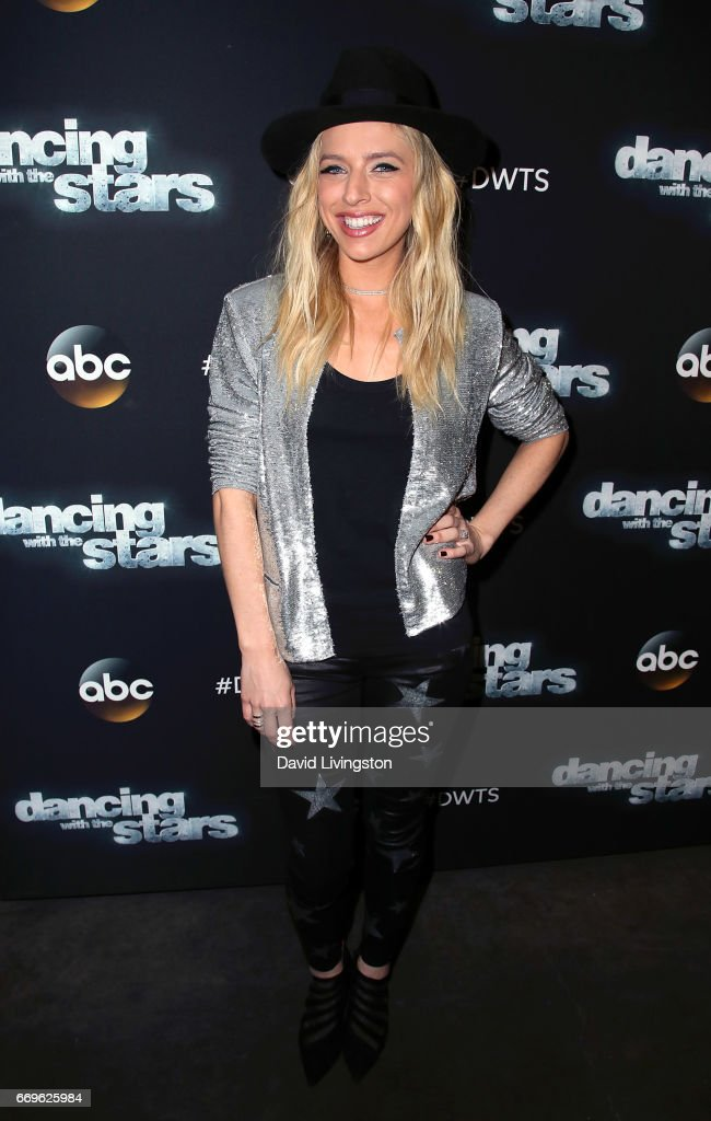 Singer/songwriter ZZ Ward attends 'Dancing with the Stars' Season 24 at CBS Televison City on April 17, 2017 in Los Angeles, California.