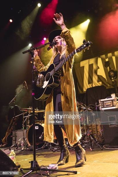 Singersongwriter ZZ Ward performs in concert at ACL Live on September 29 2017 in Austin Texas